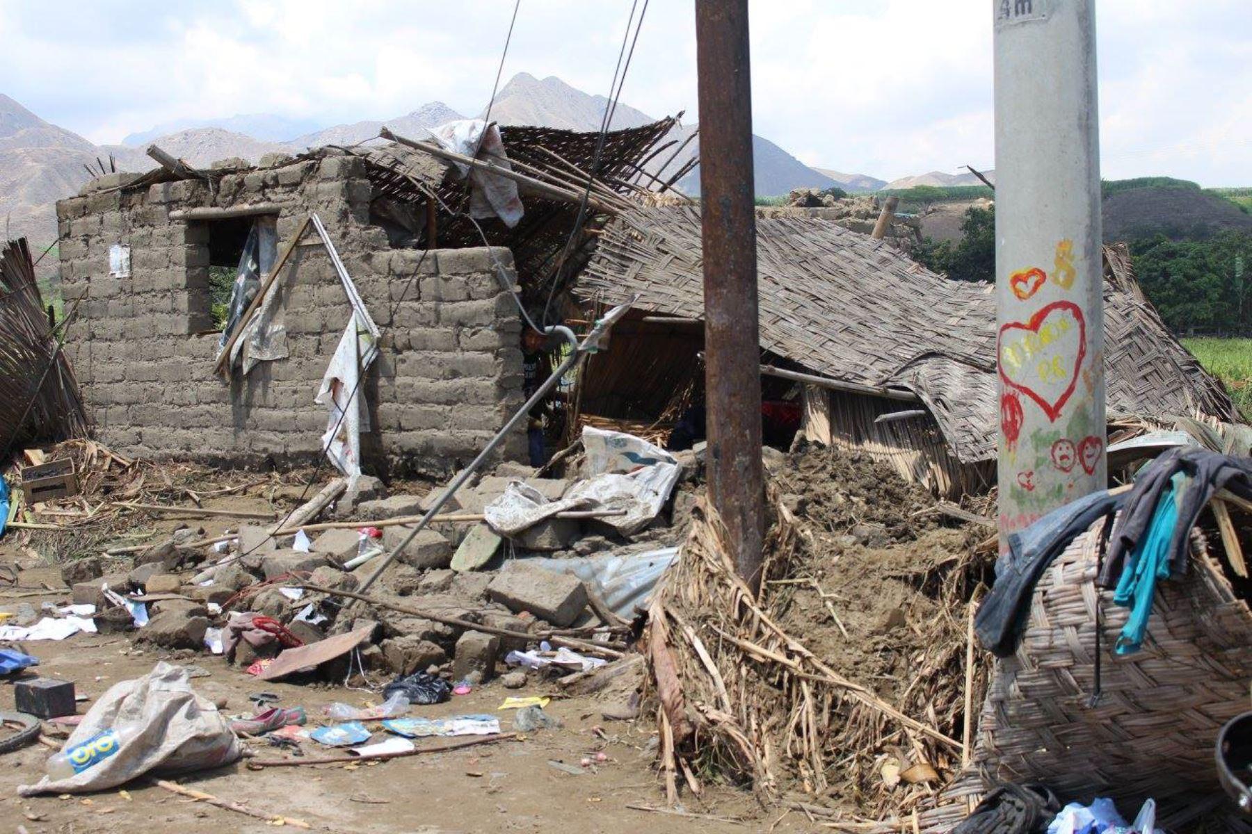 Fuerte sismo en Áncash deja una vivienda colapsada y cinco afectadas. ANDINA/Archivo