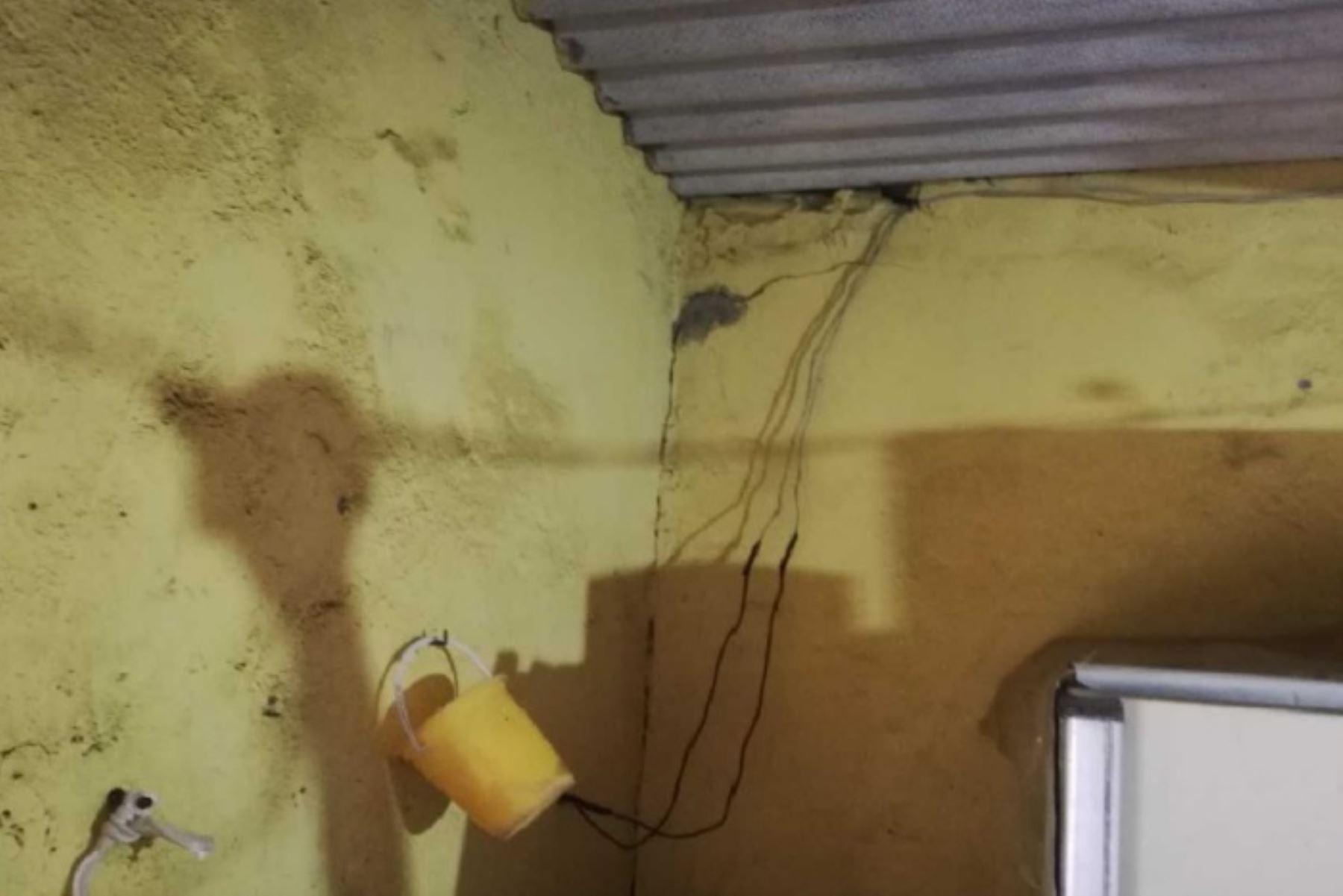 Cámaras de seguridad instaladas en distintos puntos de la ciudad de Chimbote captaron el preciso momento de la ocurrencia del sismo de magnitud 5,7 que sacudió esta madrugada la región Áncash y tuvo como epicentro la ciudad de Casma.