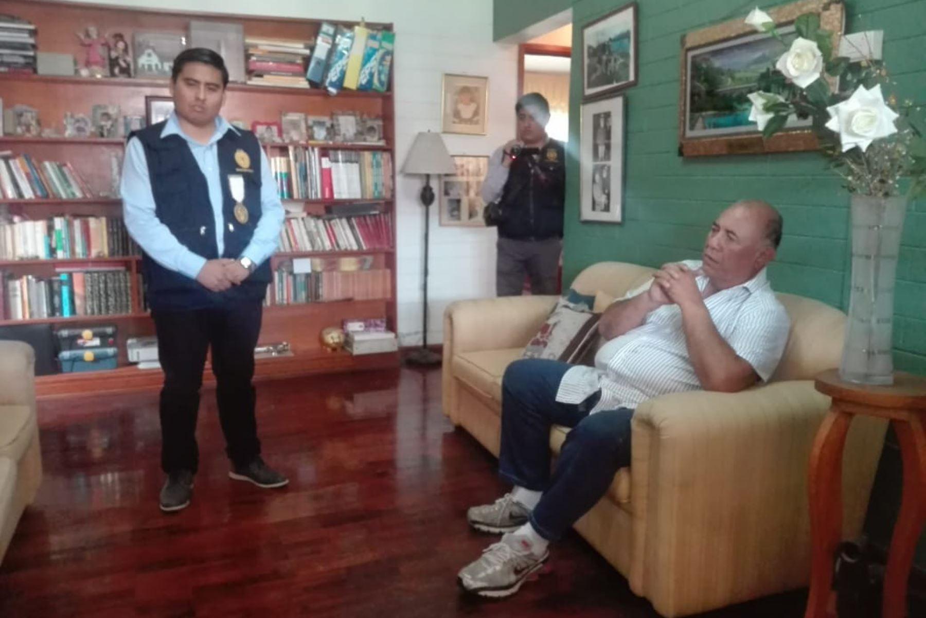 Luis Torres Robledo deberá pasar 18 meses de prisión preventiva en el penal de Pocollay. ANDINA/Difusión