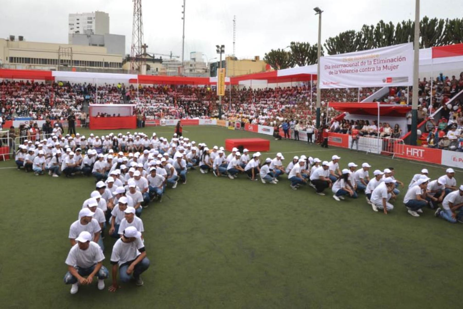 Conmemoran día internacional de la eliminación de la violencia contra la mujer. Foto: ANDINA/Difusión.