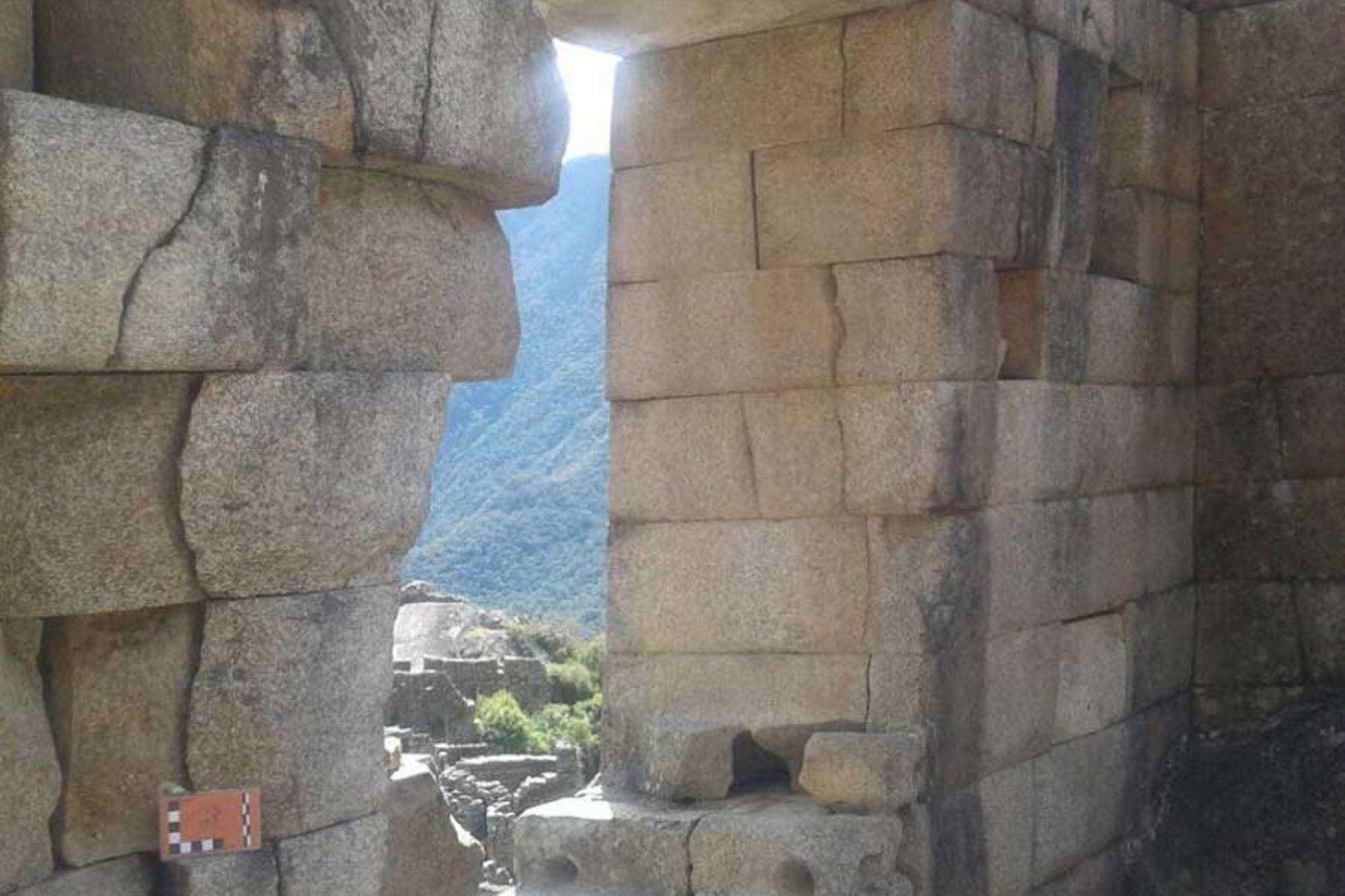 Gracias al proyecto Cusco-Pata se ha determinado por qué hay separaciones entre los muros de Machu Picchu y por qué algunos bordes están rotos. Foto: ANDINA/Ingemmet