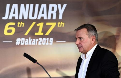 El director del Rally Dakar, Etienne Lavigne, promete una carrera fuera de serie