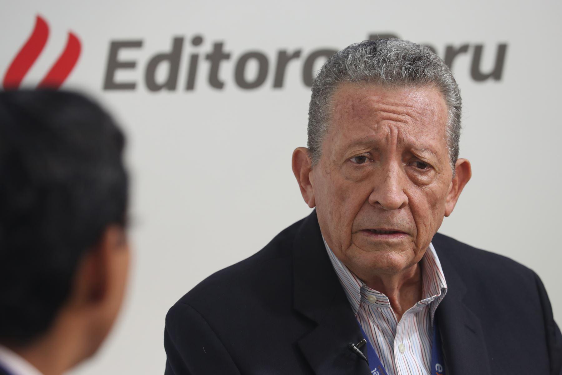 Presidente de Petroperú, James Atkins. Foto: ANDINA/Jack Ramón