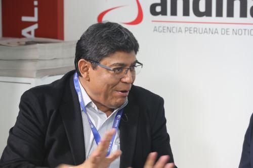 Director del BCR, economista Elmer Cuba. ANDINA/Jack Ramón