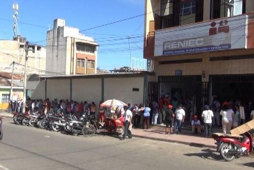 Procesos electorales se desarrollaron con total normalidad en la selvática región San Martín. ANDINA/Difusión
