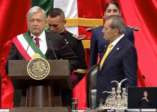 Presidente de México confía en un buen desempeño de su delegación. INTERNET/Medios