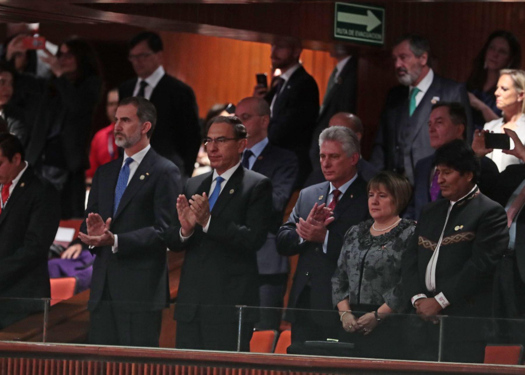 Díaz-Canel, Evo y Maduro se reúnen en México