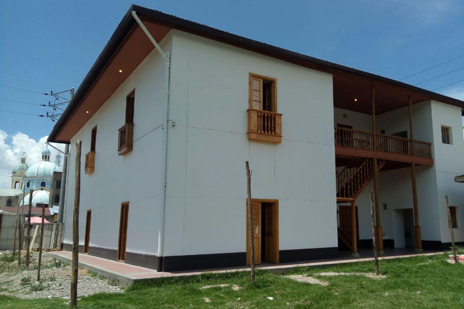 La Casa Juana Sofía Ráez Patiño es monumento integrante del Patrimonio Cultural de la Nación desde el 2011.