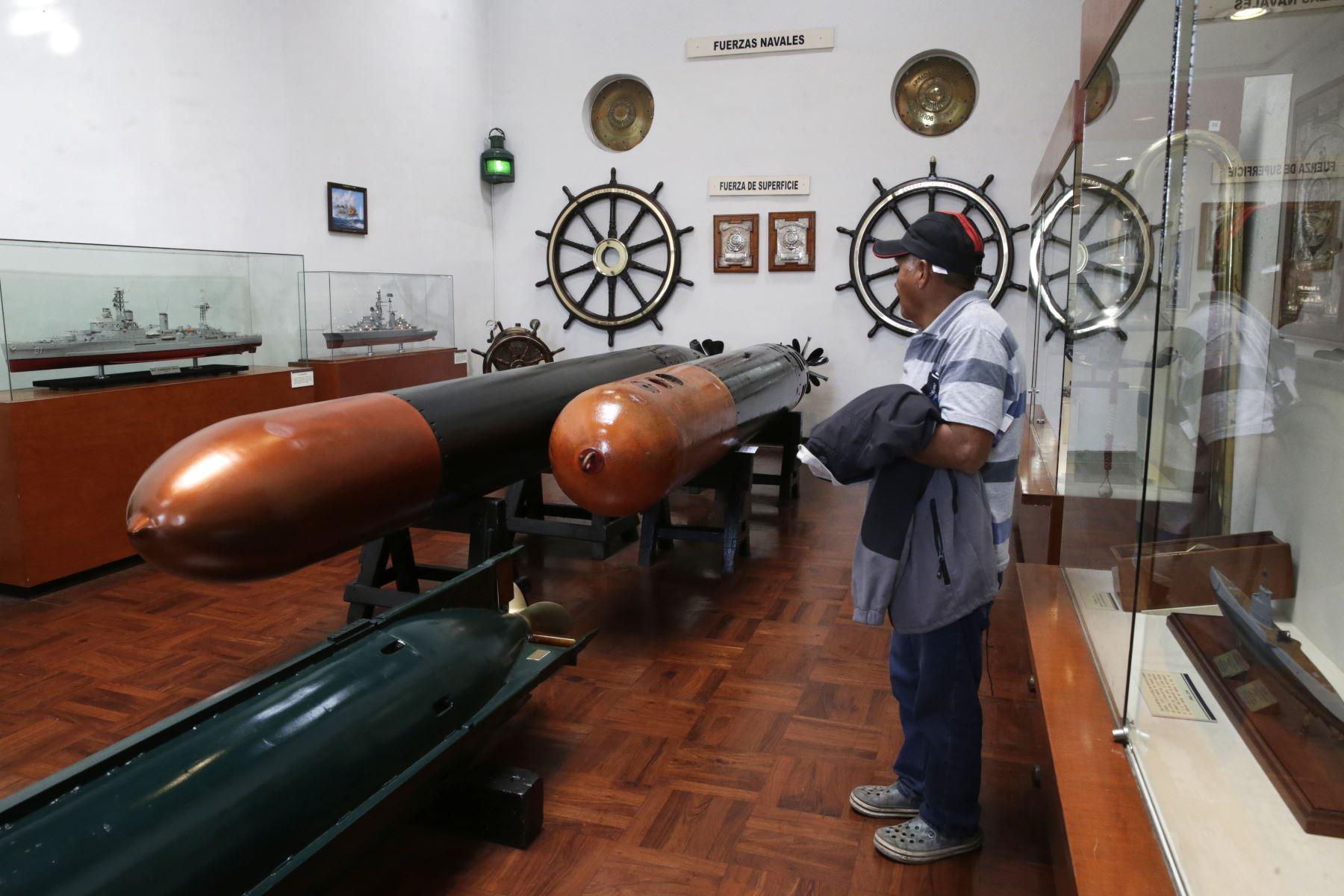 Museo Naval. Foto: ANDINA/Melina Mejía