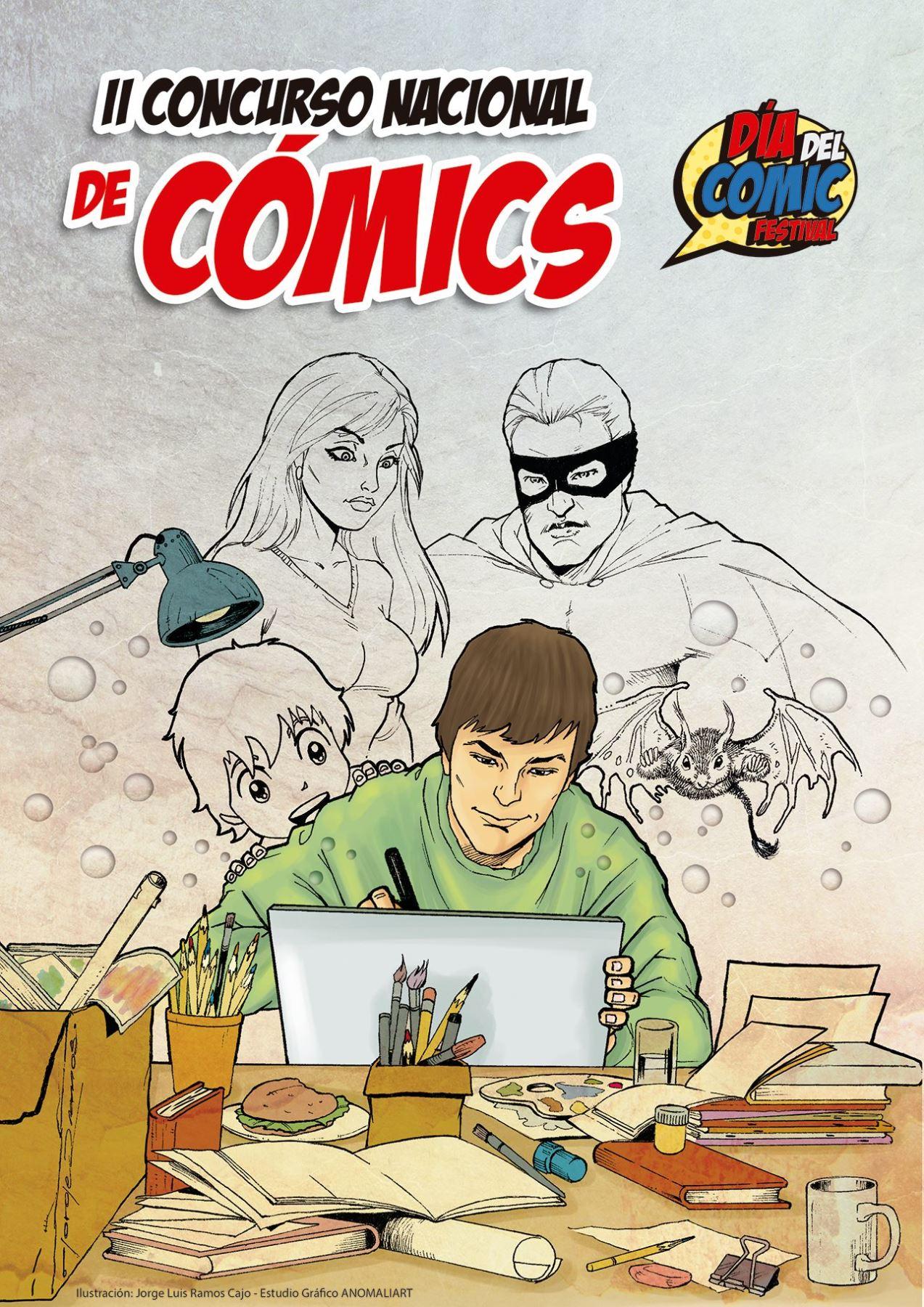 Se anuncia el II Concurso Nacional de Cómics.