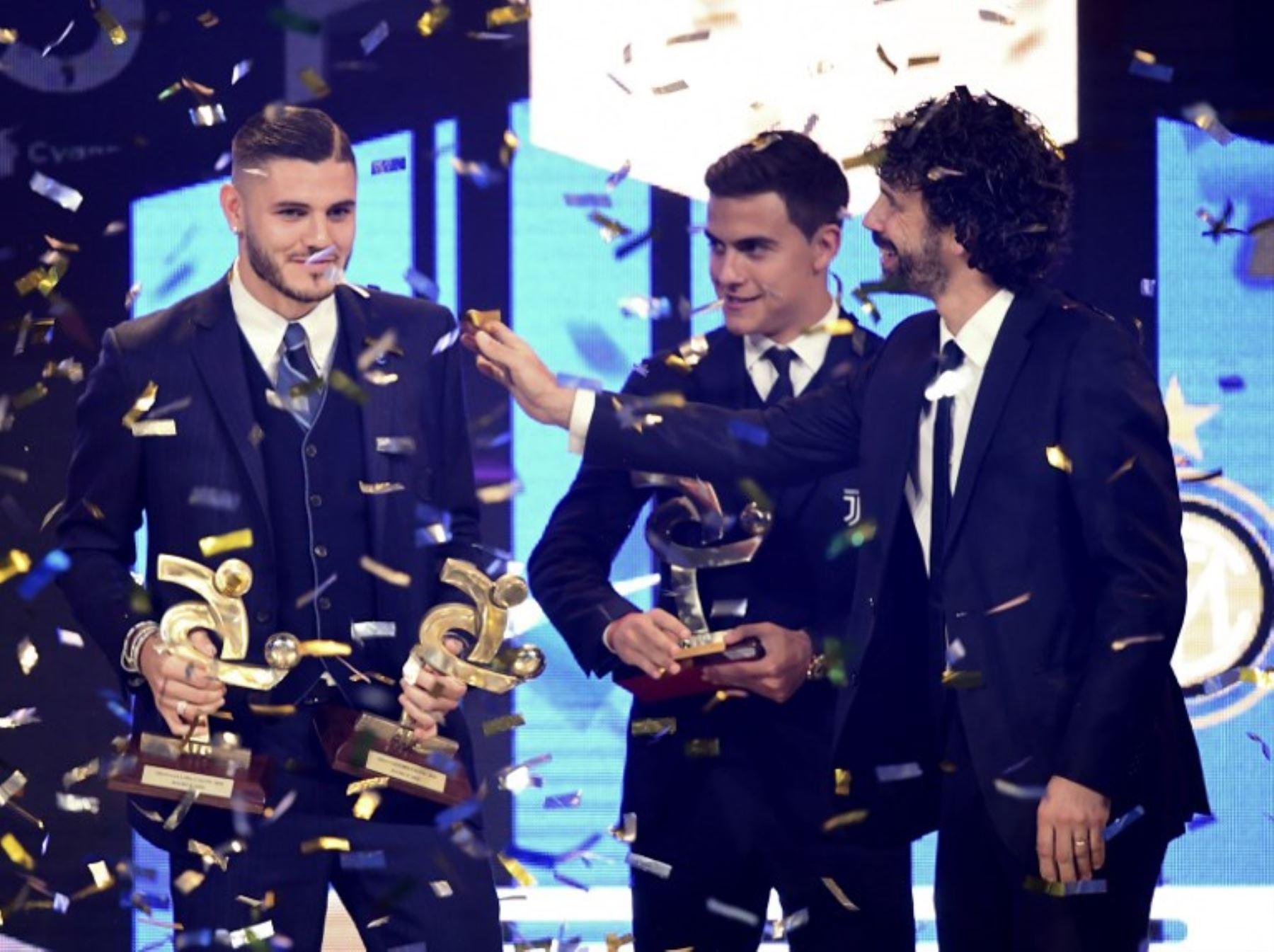 Icardi fue elegido como el mejor futbolista en Italia