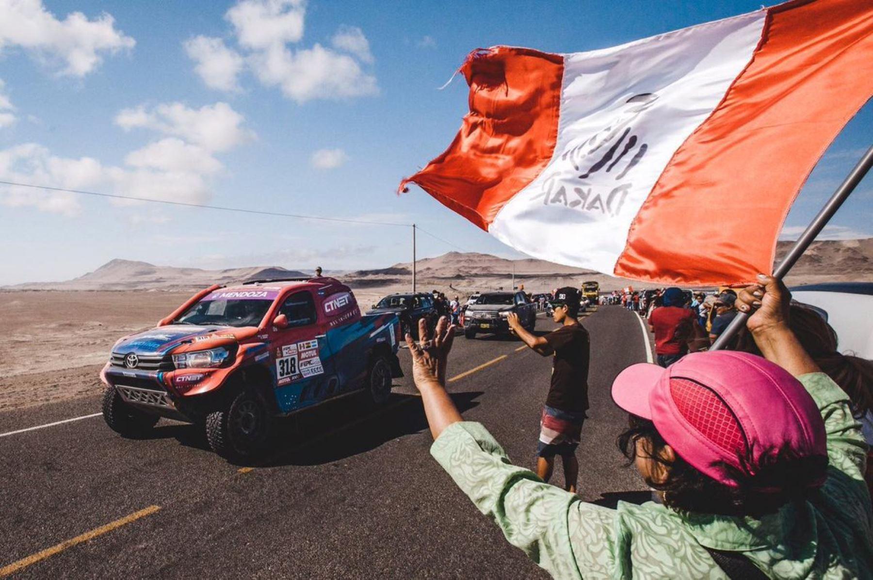 Dakar Perú 2019 dinamizará economías de regiones que acogerán el Rally. ANDINA/Difusión