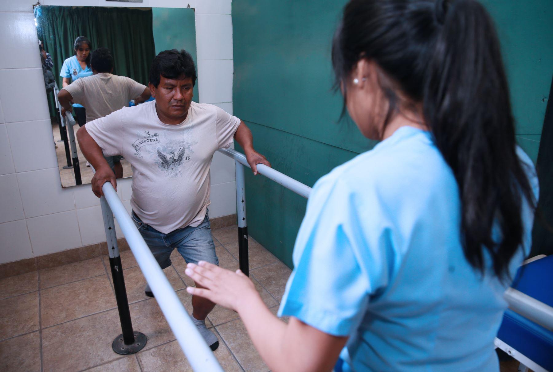Hay una gran necesidad de terapistas en las regiones de Huánuco, Apurímac, así como en las zonas de la selva, sierra central y el norte del país.  Foto: ANDINA/Norman Córdova