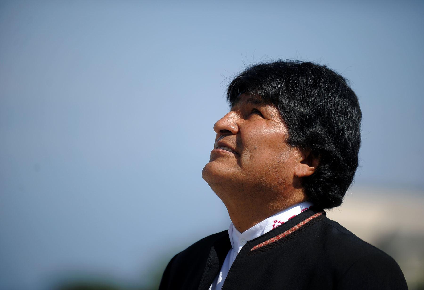 El presidente boliviano, Evo Morales  Foto: AFP.
