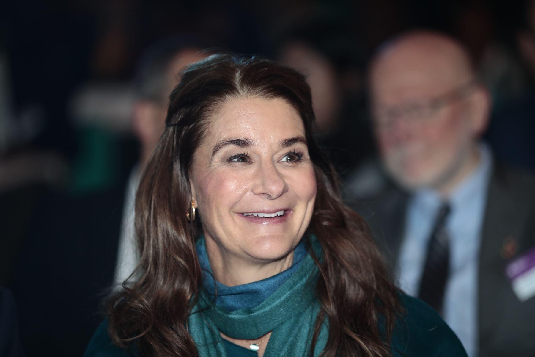 Melinda Gate, copresidenta de Bill & Melinda Gates. AFP