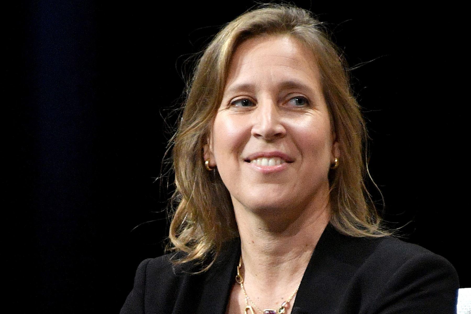 Susan Wojcicki es una historiadora estadounidense de origen polaco y directora ejecutiva de YouTube. AFP