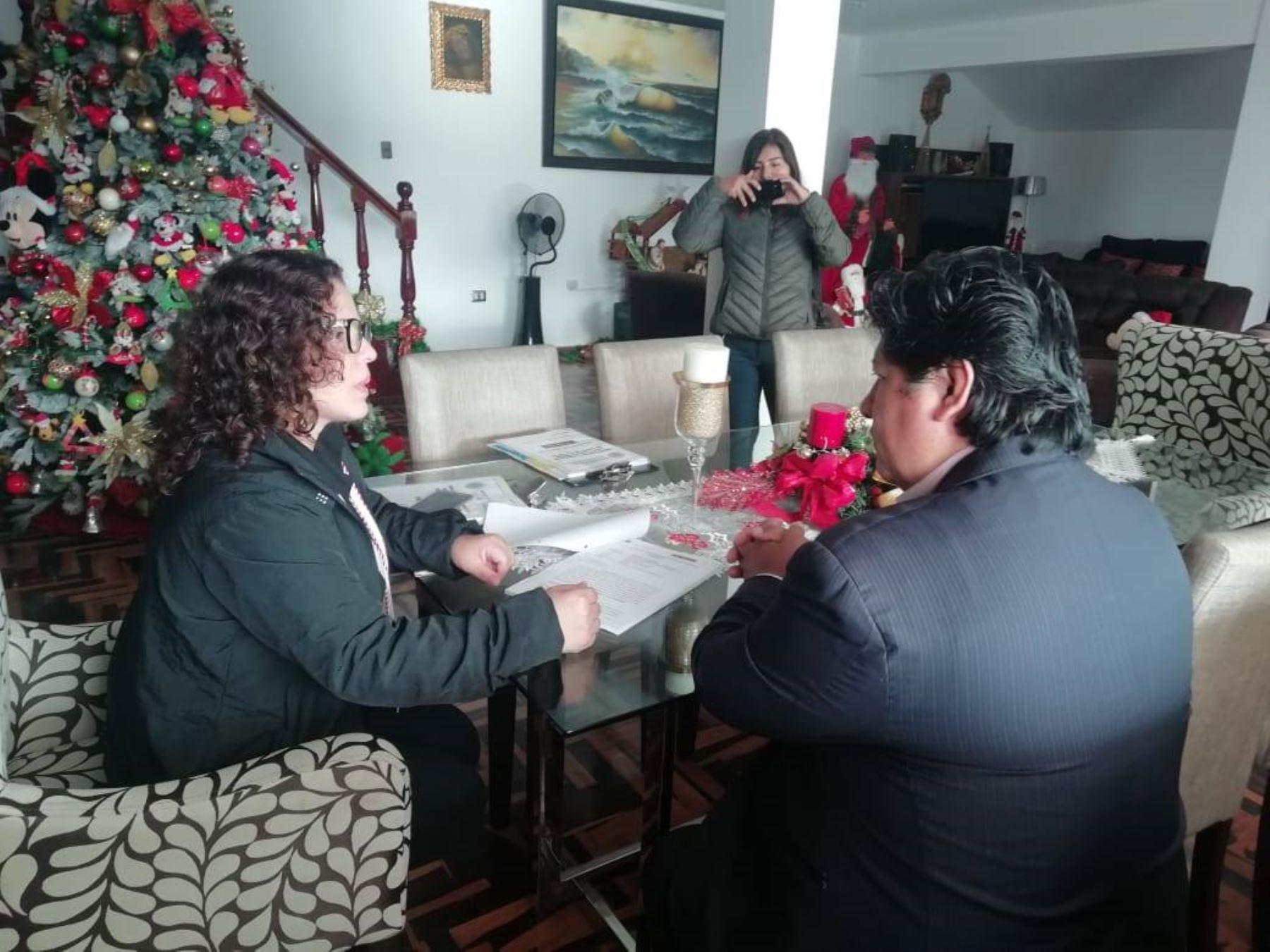 Capturan al presidente de la FPF, Edwin Oviedo, por caso Los Cuellos Blancos del Puerto. Foto: ANDINA/Difusión.