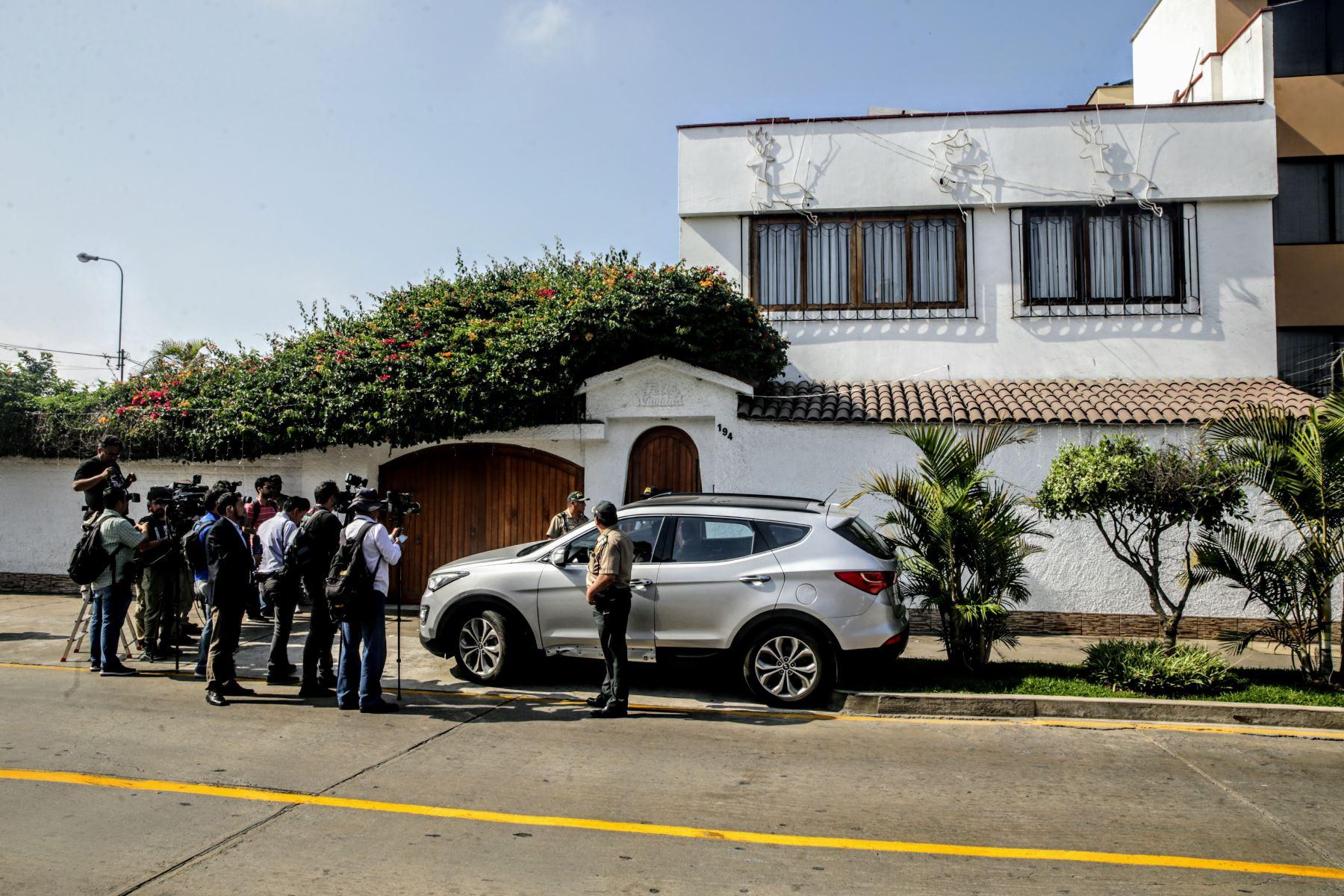 Ordenan detención preliminar contra el presidente de la FPF con allanimiento de su domicilio en San Borja. Foto: ANDINA/Luis Iparraguirre