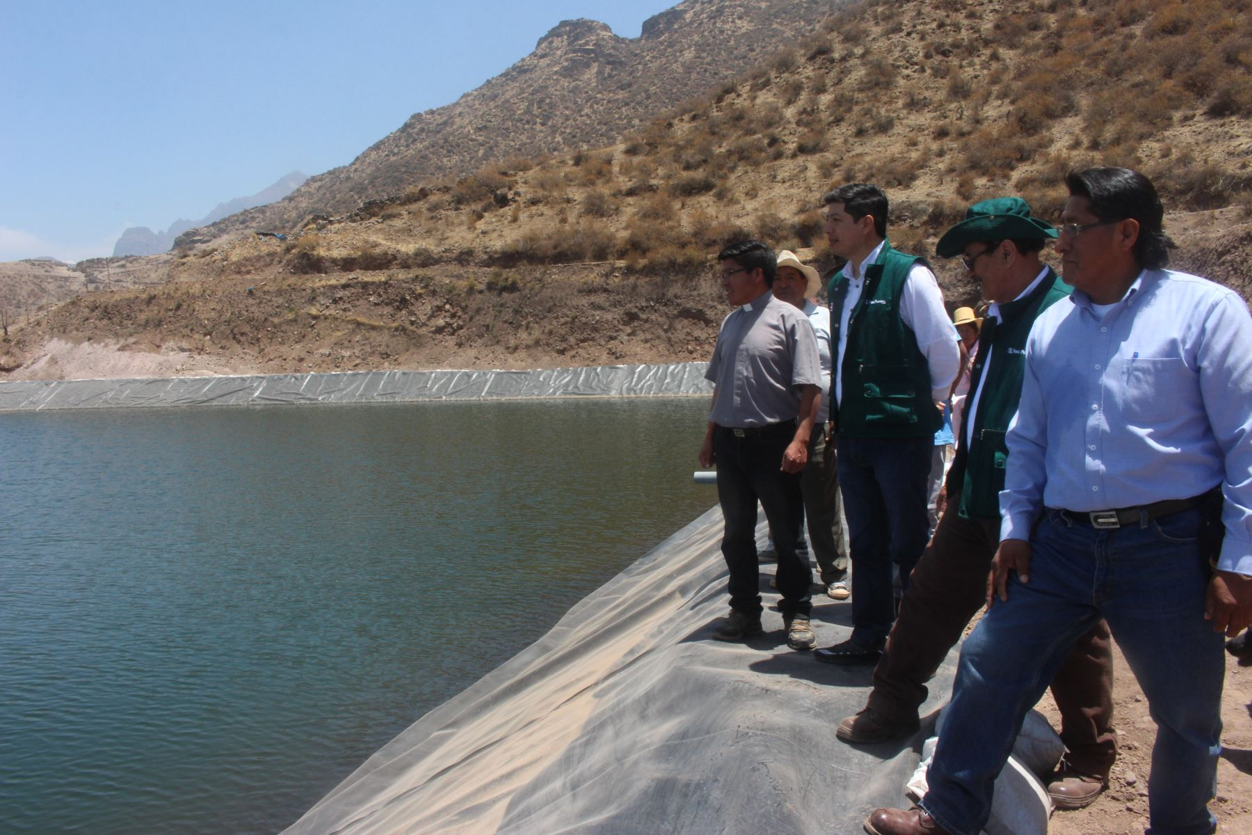 Minagri invierte S/ 1.86 millones para mejorar sistema de riego en Huarochirí. ANDINA/Difusión