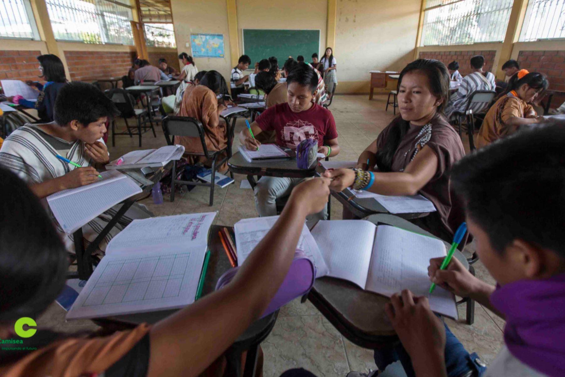 Más de 500 jóvenes indígenas del Bajo Urubamba, en Cusco, acceden a beneficios de programa de educación. ANDINA/Difusión