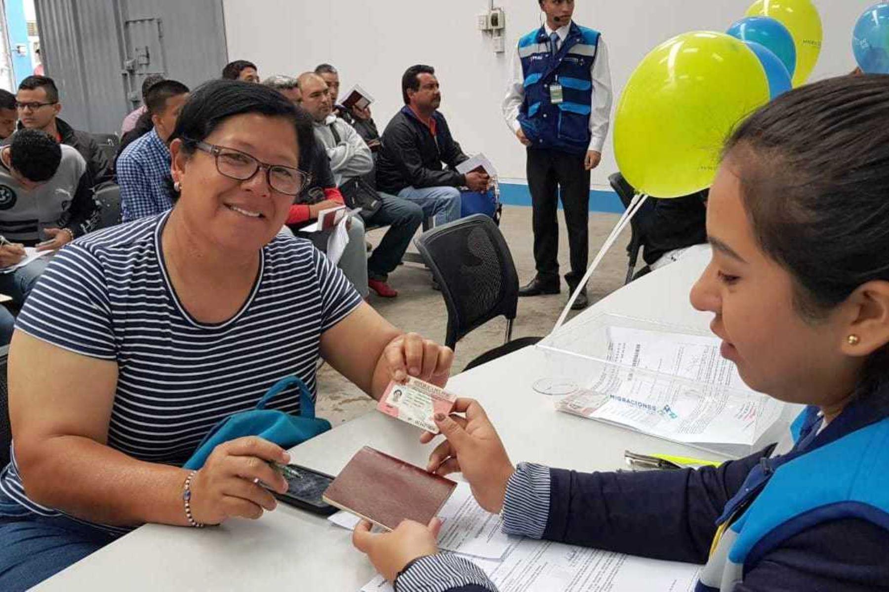 Ciudadanos venezolanos podrán tramitar PTP en Lima Norte y Lima Sur. Foto: ANDINA/Difusión.