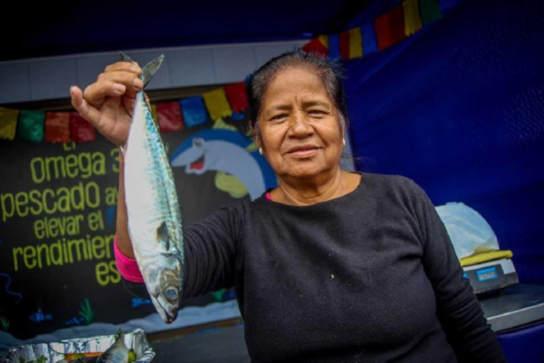 """El festival """"Mi Pescadería"""", organizado por el Ministerio de la Producción, ofrecerá mañana viernes 1,000 kilos de pescado altamente nutritivo y a precios de promoción, a las familias del centro poblado Las Américas, en el distrito y provincia de Abancay, provincia de Abancay, en la región de Apurímac."""