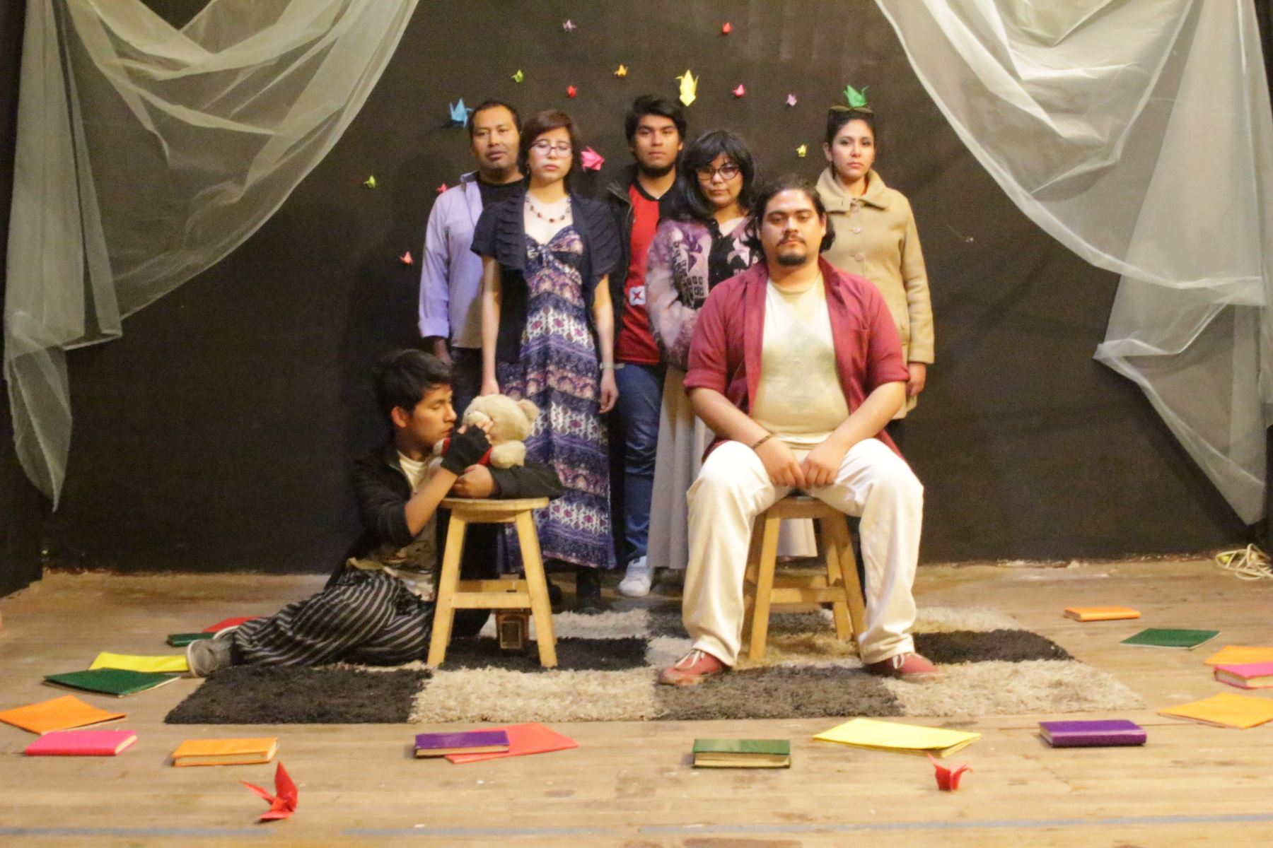 Obra teatral Los Extramuros de Maria-No en la casa natal de Mariano Melgar