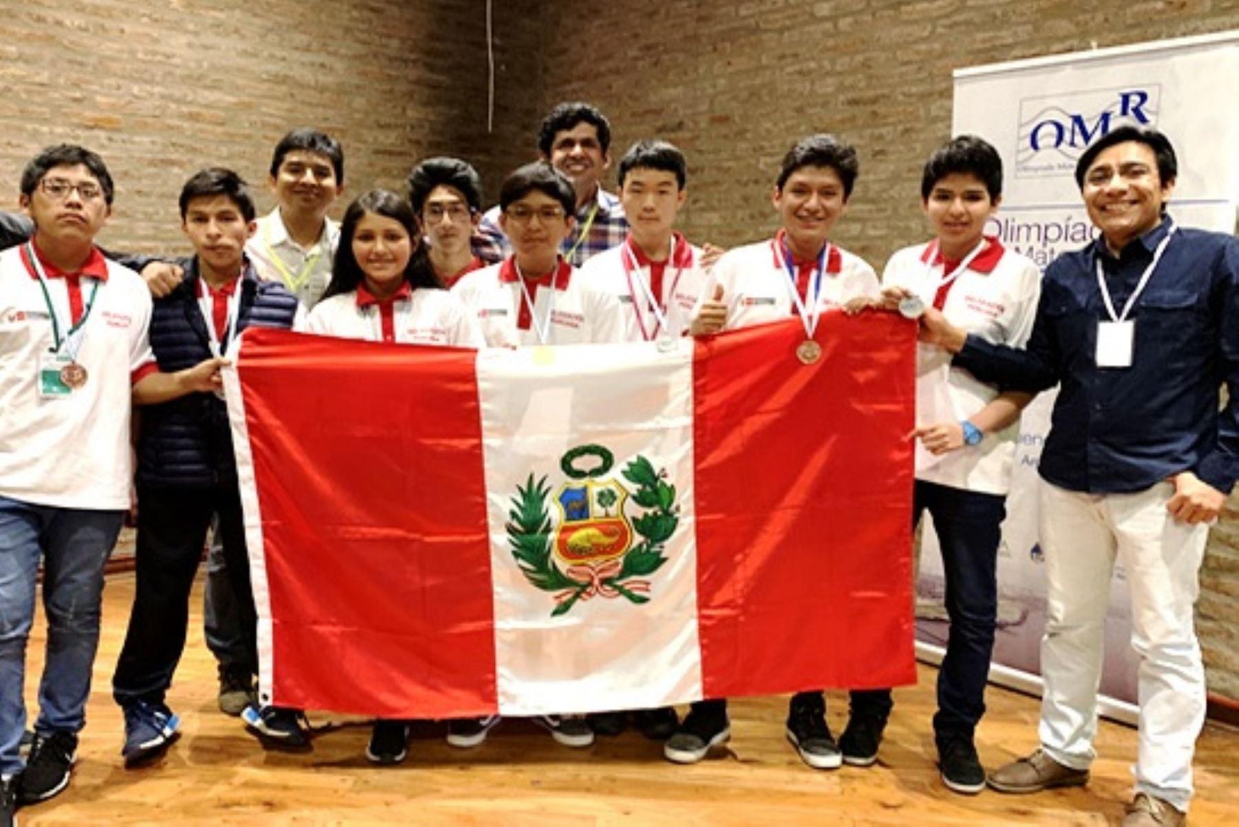 Perú se corona campeón en olimpiada escolar de matemáticas en Argentina. Foto: ANDINA/Difusión.