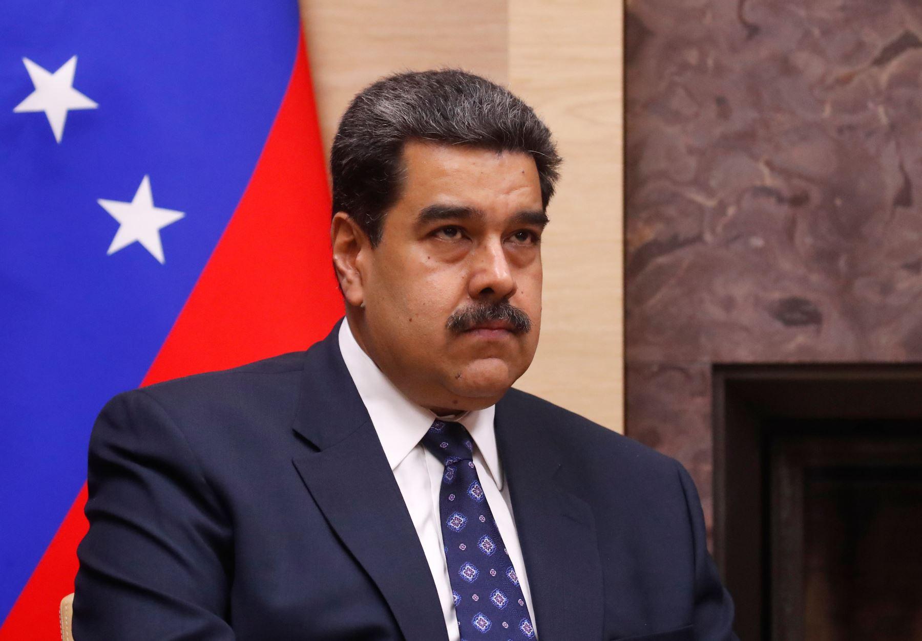 El presidente de Venezuela, Nicolás Maduro, durante su visita a Rusia. Foto: AFP.