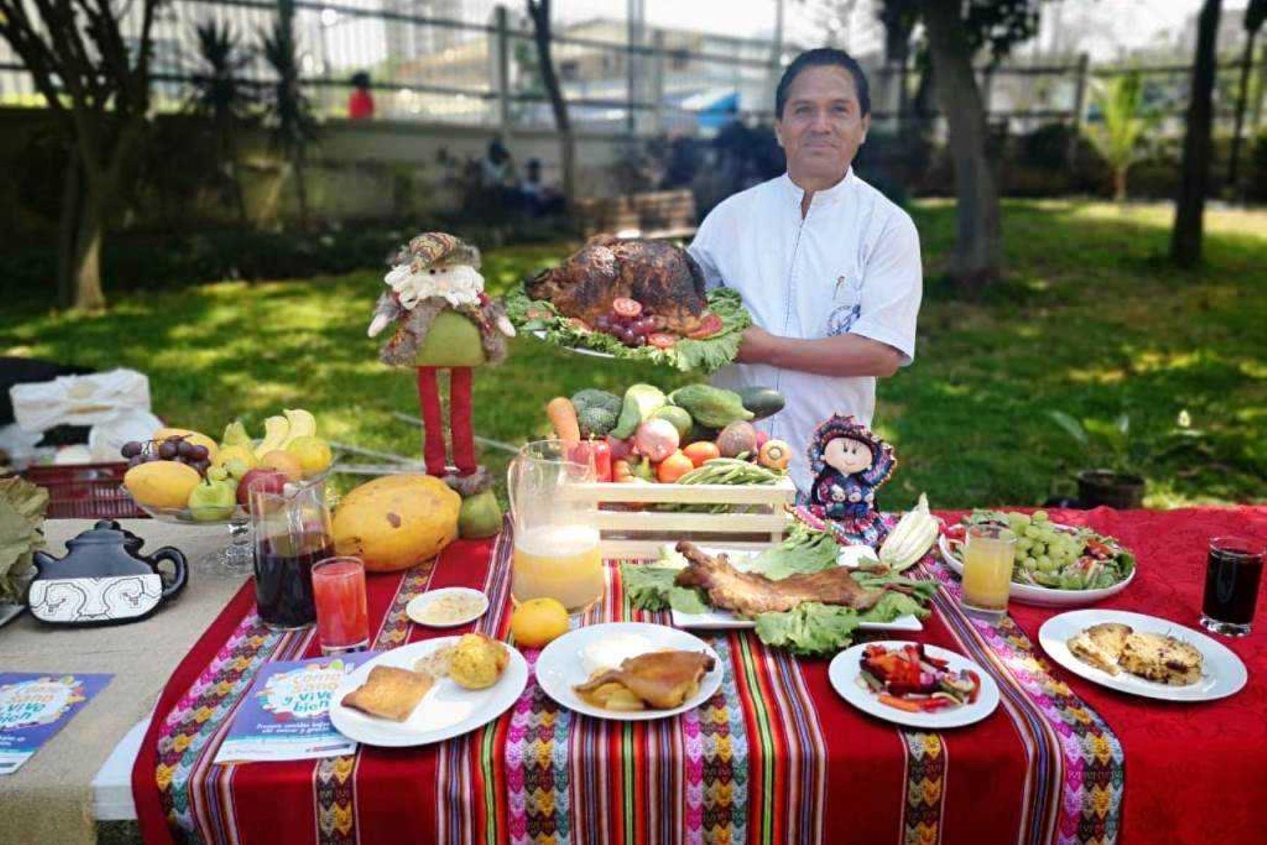 Cena navideña: consumo abundante de frutas y verduras evitará indigestión. Foto: ANDINA/Difusión.