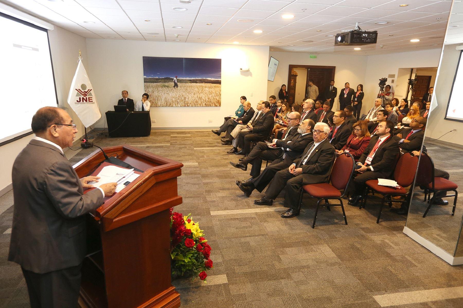 Presidente del JNE,  Víctor Ticona Foto: Difusión