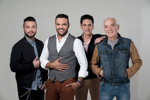 Banda venezolana Guaco en Lima.