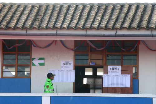 Ayacucho quedó listo para el referéndum y segunda vuelta de elecciones regionales