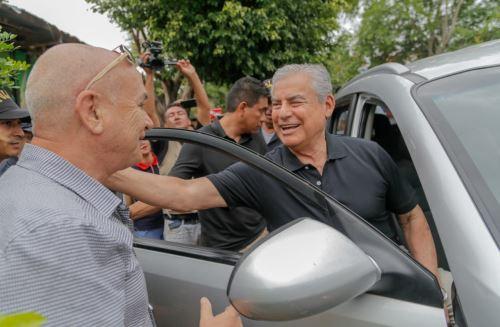 El jefe del Gabinete participó en el Referéndum Nacional 2018, en la región San Martin