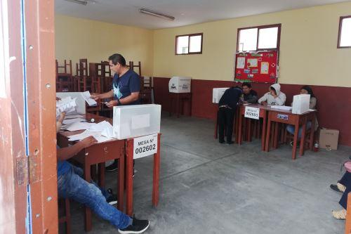Proceso electoral en sierra de Áncash se desarrolla sin mayores incidencias. ANDINA
