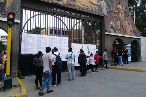 Consulta popular se desarrolla sin inconvenientes en la región La Libertad. ANDINA