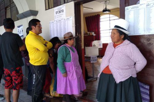 En la región Cusco, 986,000 personas emitirán su voto en la Segunda Elección Regional y Referéndum Nacional 2018.