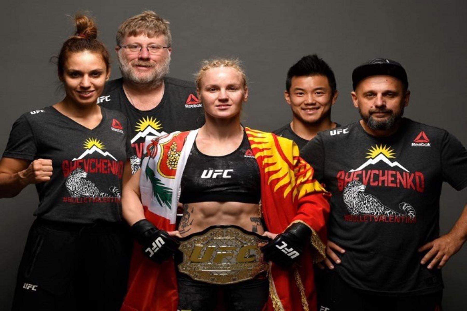 Valentina Shevchenko campeona en la división mosca de la UFC