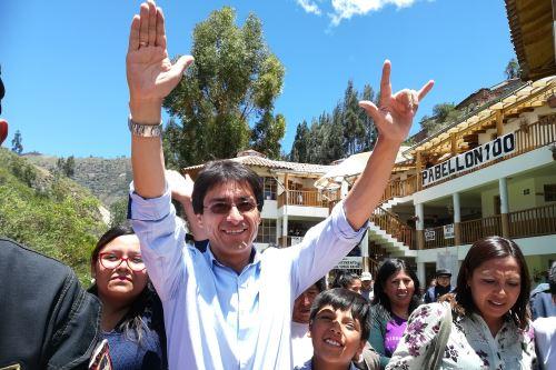 Jean Paul Benavente se convierte en el virtual gobernador regional de Cusco.