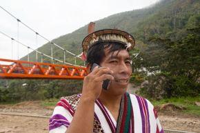 Telecomunicaciones en las zonas más alejadas del país. Foto: Cortesía.