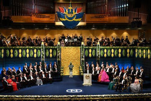 Ceremonia de entrega de Premios Nobel 2018