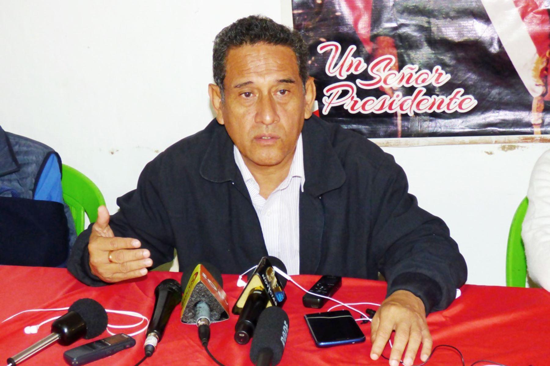 Mesías Guevara Amasifuén asumirá mañana la conducción del Gobierno Regional de Cajamarca.Foto:  ANDINA/Eduard Lozano.