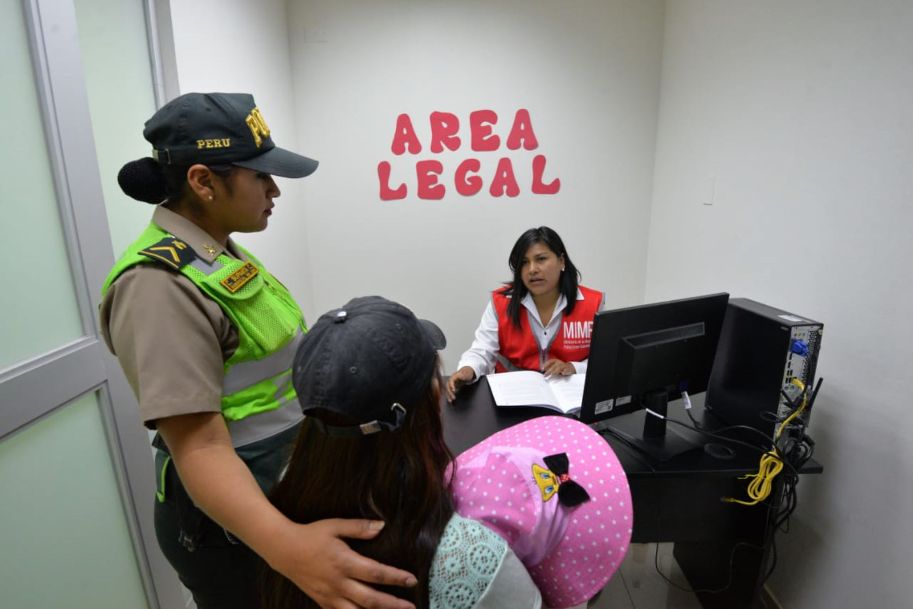 Ministerio de la Mujer interviene ante presunto feminicidio en Tacna. ANDINA/Difusión