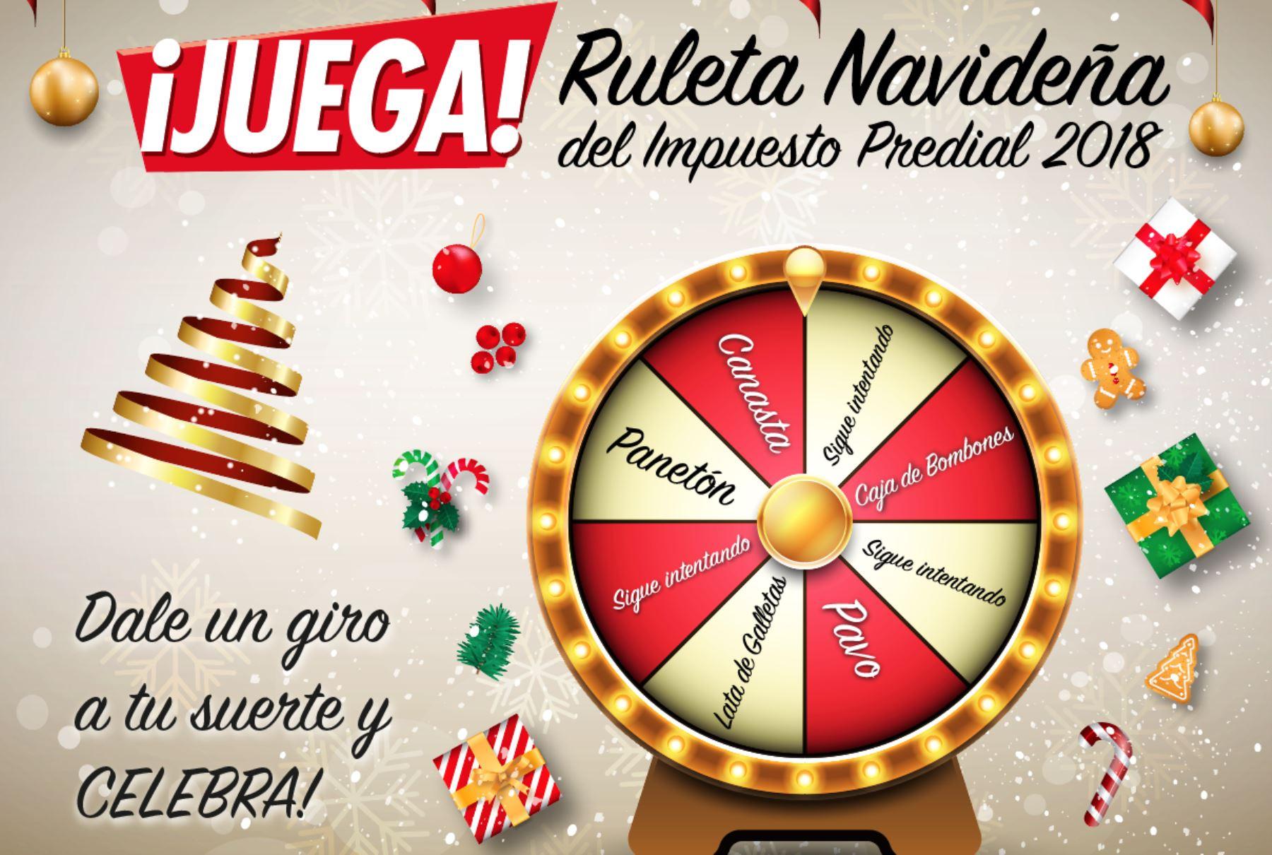 Ruleta Navideña Premia A Contribuyentes Que Cumplan Con Pago De
