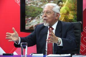 Ministro de Vivienda, Construcción y Saneamiento, Javier Piqué. ANDINA/Jack Ramón