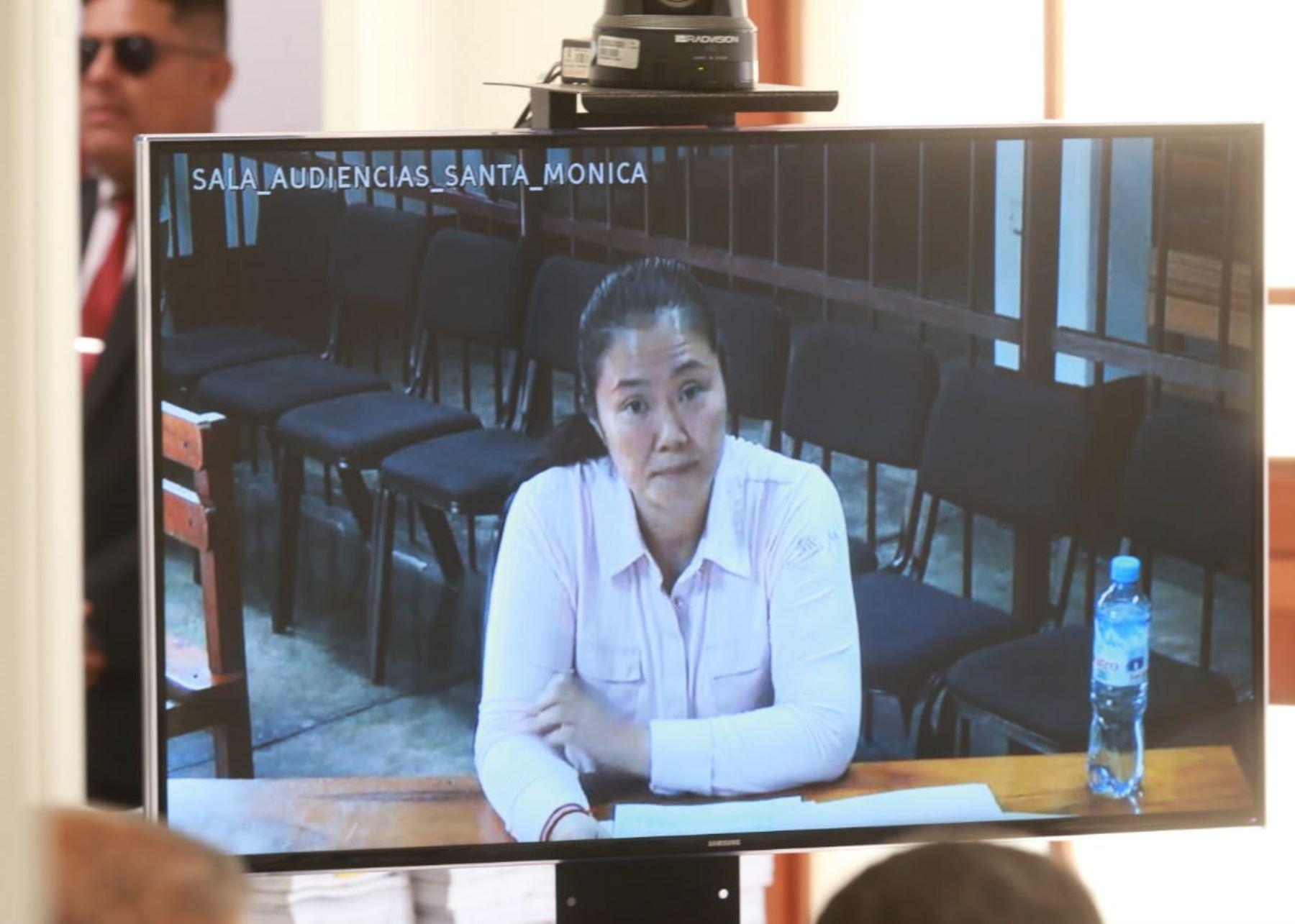 Juez peruano que resolverá libertad de Keiko Fujimori se