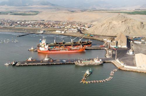 Puerto de Salaverry. Foto: Cortesía.