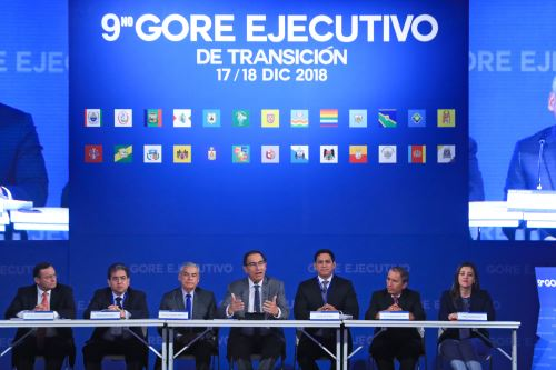 Presidente Vizcarra Inaugura el 9º Gore Ejecutivo