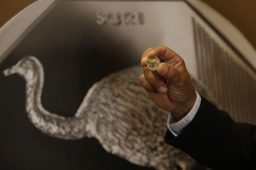 Presentación de la nueva moneda de la colección Fauna Silvestre Amenazada del Perú