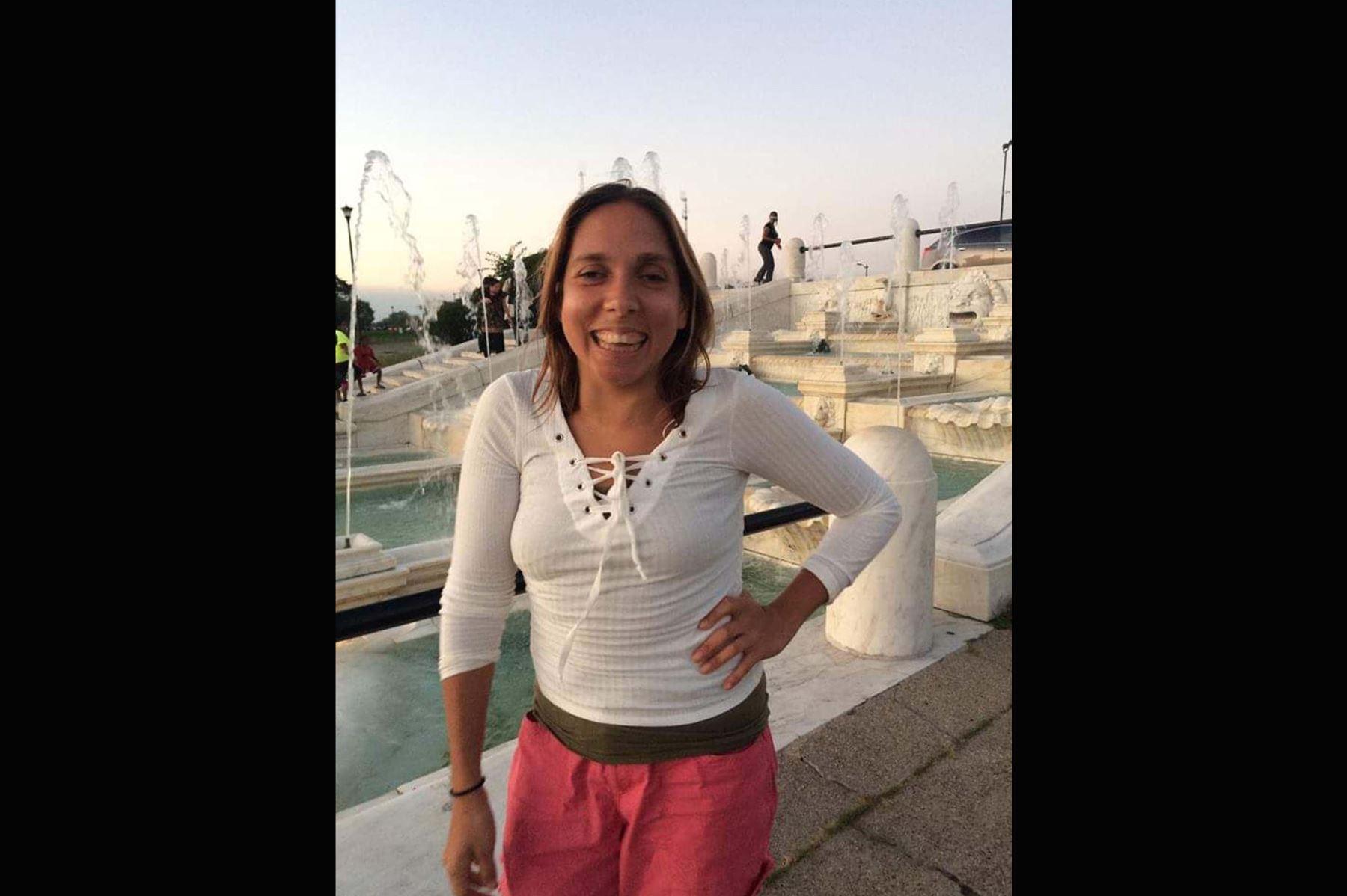 Padre de Carla López, la turista desaparecida en Cusco, se sumó a labores de búsqueda de la joven. ANDINA/Difusión